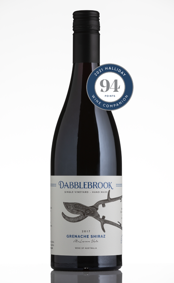 Grenache-Shiraz 2017 Halliday 94points
