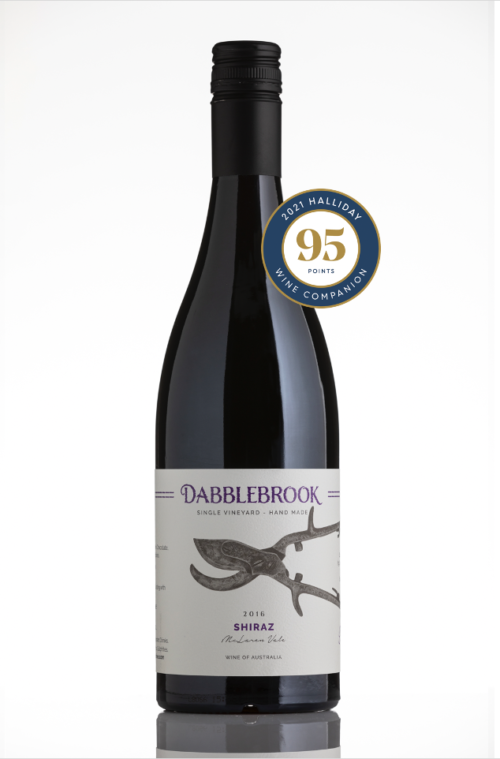 Shiraz 2016 Halliday 95points